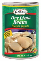6X Grace Dry Lima Beans CANS 540ml FROM Canada ALWAYS FRESH  - $29.45