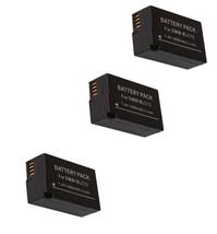 3X Batteries For Panasonic DMC-G7K, DMC-G7H, DMC-G7W, DMC-G7KK DMC-G7HK DMC-G7KS - $42.29