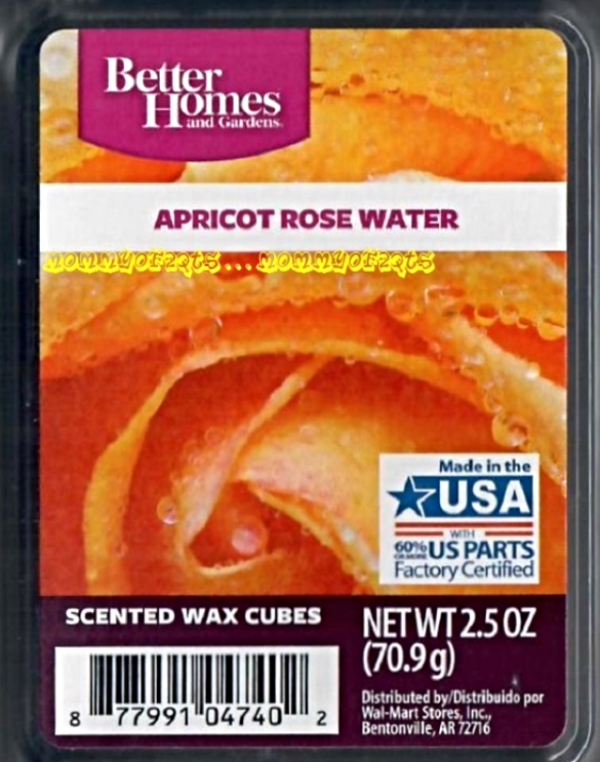 Apricot Rose Water Better Homes And Gardens Scented Wax
