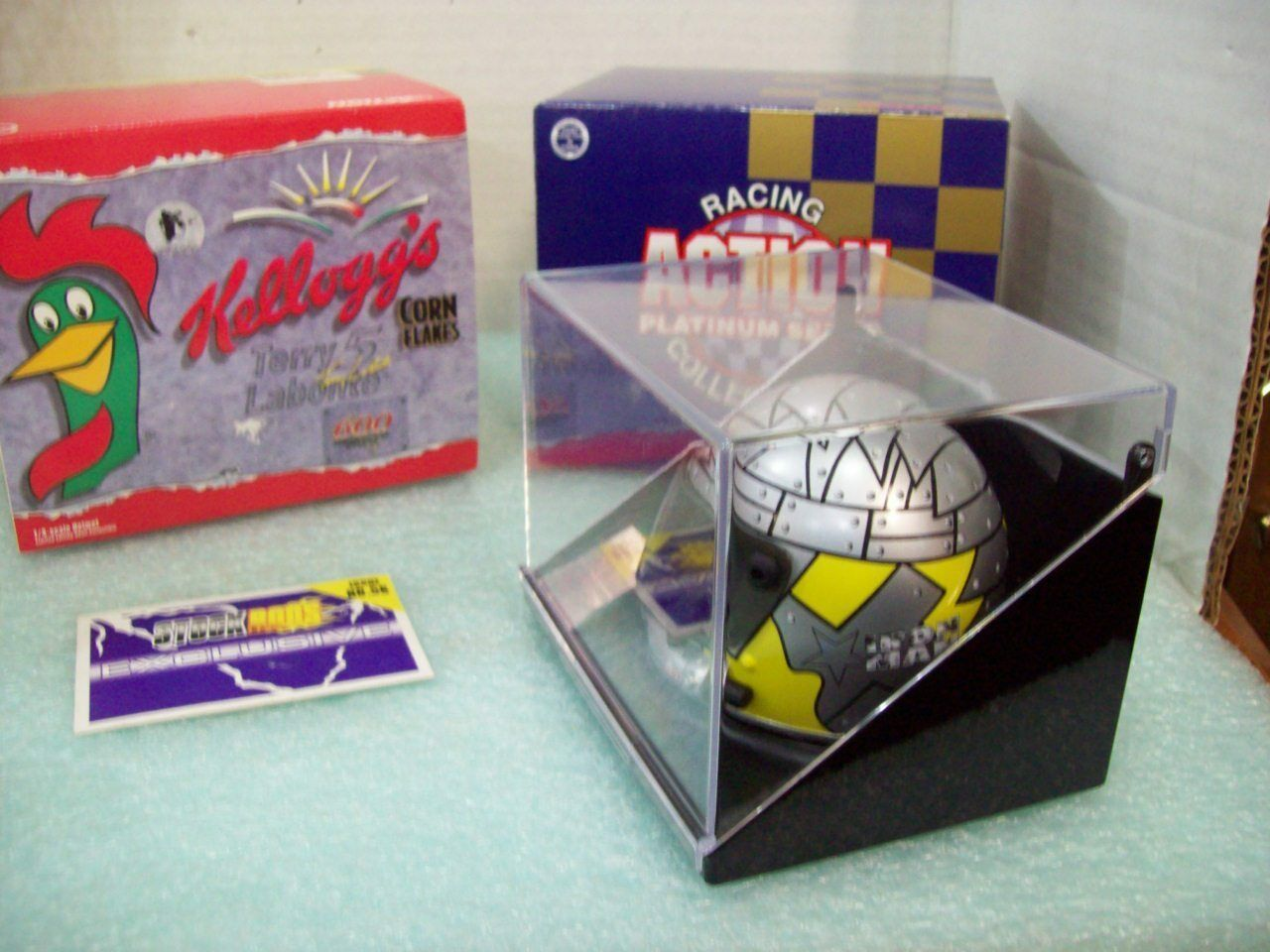 1998 - Action - Bobby Labonte / Kelloggs 1:4 Scale NASCAR Helmet