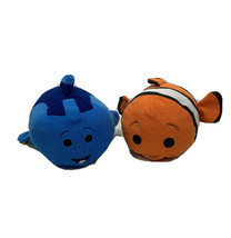 "Medium Dory  & Nemo Finding Nemo Tsum Tsum Plush 12"" Disney Blue  Orange... - $23.33"