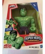 Playskool Marvel Super Hero Adventures Mega Mighties Hulk, 10-Inch Toy - $14.44