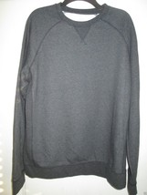 Sonoma GYM TO STREET Crewneck Long Sleeve Men' Sweater DK INK HTR L $50   - $25.21