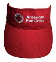 American Red Cross Visor Adult Adjustable OSFA Non Profit Volunteer Prom... - $16.88