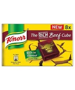 Knorr Rich Beef Stock Cubes 8 x 10g - $4.75