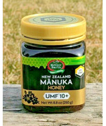 MANUKA HONEY UMF 10+  8.8oz NEW ZEALAND Mother Earth - $19.95