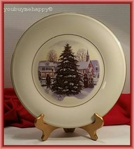 Lenox Victorian Christmas  Collector Plate  New - $85.14