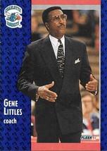 Gene Littles ~ 1991-92 Fleer #22 ~ Hornets - $0.05