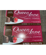 Queen Anne ~ Dark Chocolate Covered Cherries Cordials 20-Count ~ 01/2022 - $16.82