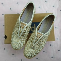 Keds Women Gold Champion Laceless Animal Floral Shoes Size us6.5 WF48794... - $38.69