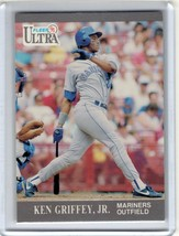 1991 Fleer Ultra #336 KEN GRIFFEY JR Seattle Mariners HOF - $3.95