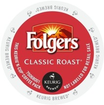 Folgers Gourmet Selections Classic Roast Coffee, K-Cup Portion Pack For... - $32.91