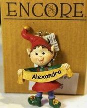 Christmas Ornaments WHOLESALE- Russ BERRIE- #13800-'ALEXANDRA'- (6) - New -W74 - $5.83