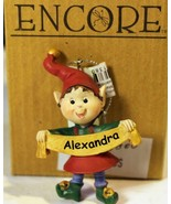 CHRISTMAS ORNAMENTS WHOLESALE- RUSS BERRIE- #13800-'ALEXANDRA'-  (6) - N... - $5.83