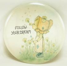 Vintage Hallmark Betsey Clark Love Dot Pin-back Pins Follow Your Dream Buttons - $18.76