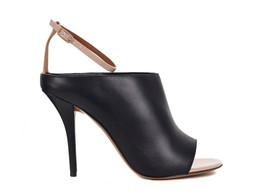 Givenchy Womens Black Leather Ankle Strap Open Toe Sandals IT40/US10~RTL... - $451.25