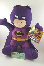 New DC Comics Super Friends BATMAN Purple Knight Plush Doll 8'' Toy Fact... - $9.89