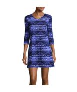 Porto Cruz Waves Knit Swimsuit Cover-Up Dress Size S, M, L, XL Msrp $42.00 - $21.99