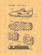 Cleated Sole for Athletic Shoe Patent Print - $7.95+