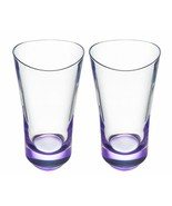 Orrefors CRYSTAL  Tumblers Set Drinking Glasses Violet - $70.01