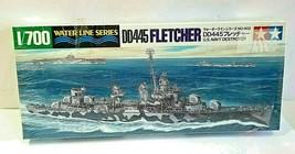 1/700 WATER LINE SERIES DD445 FLETCHER US NAVY DESTROYER MODEL KIT JAPAN... - $22.00