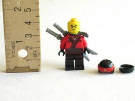 LEGO Ninjago Movie Ninja Kai Minifigure 70611 Mini Fig 2x Katana Sword Backpack - $9.99