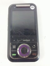 Motorola Verizon Model Rival A455 Purple & Black Cell Phone with Page Plus - $40.76
