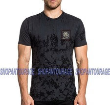 Affliction Forever Cross A20188 Short Sleeve Black Label Fashion T-shirt For Men - $55.42
