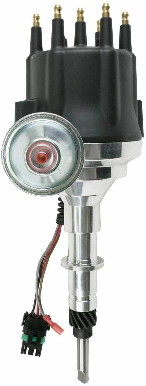 Pro Series R2R Distributor for Chevy 194 230 250 292, I6 Engine Black Cap