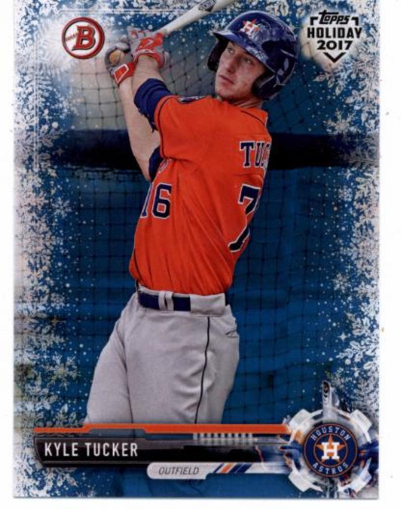 Primary image for 2017 Bowman Holiday Blue Winter Wonderland #TH-KT Kyle Tucker NM-MT /50 Astros