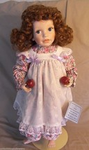 Elke Hutchens Porcelain Doll Megan from Danbury Mint 1992 Summer in the Country - $36.27