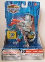 Digimon Digi Action Firing Cannon Metal Greymon Action Figure Brand New ... - $42.27