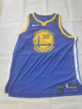Nike Golden State Warriors Steph Curry 30 Icon Jersey Men 58/3XL Blue 86... - $148.49