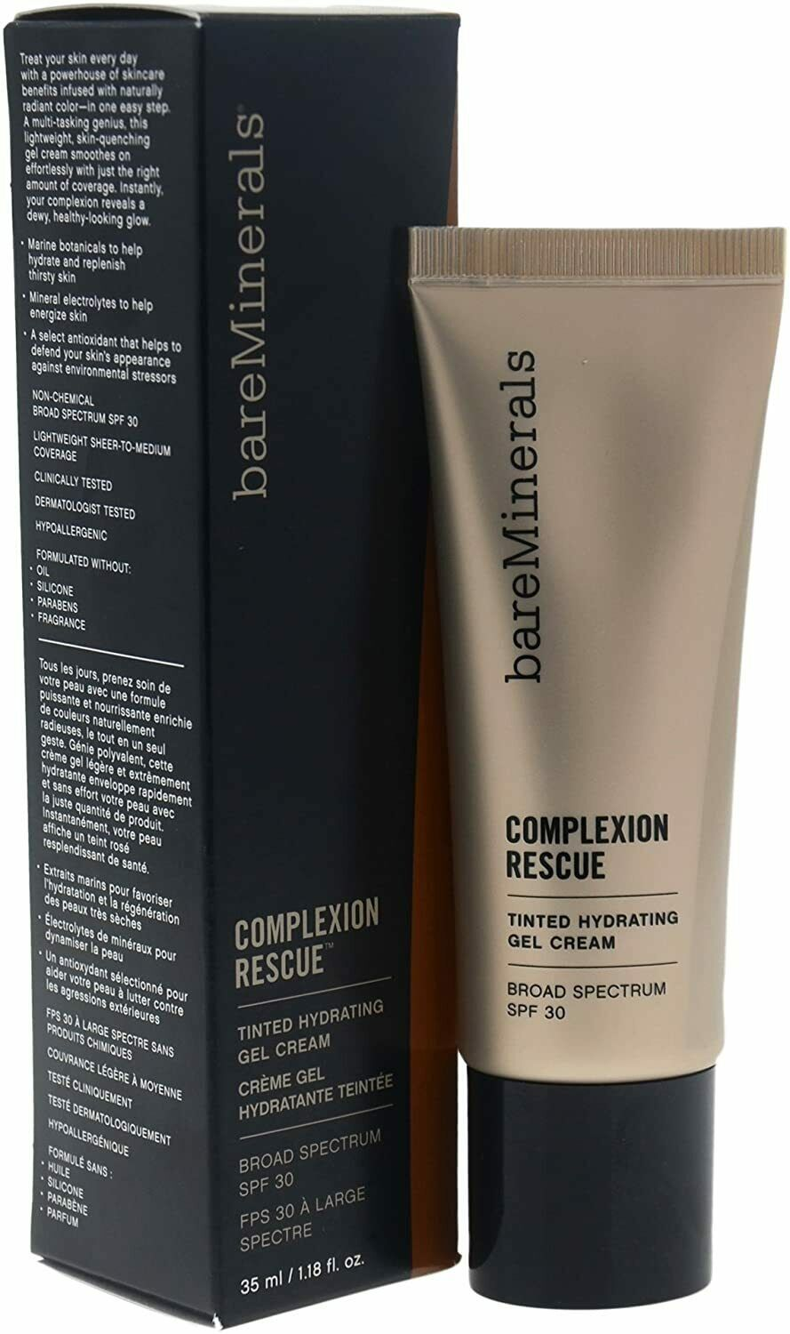 Primary image for bareMinerals Complexion Rescue Tinted Hydrating Gel Cream, Chestnut 09