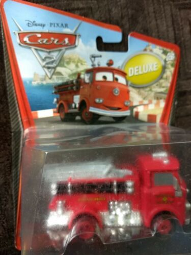 Sealed 2010 Mattel Pixar Disney Cars RED THE FIRETRUCK deluxe you figure  image 7
