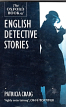 English Detective Stories, THE OXFORD BOOK of   By  Patricia Craig - $4.95