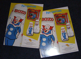 Bozo classic bozo bop bag sales sheets 2001 LHP - $16.99