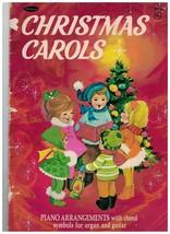 Song Book ~ Christmas Carols ~Piano with symbols Organ & Guitar ~ 1969 ~... - $11.83