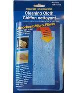 Microfiber Reusable All Purpose Cleaning Cloth, Blue - $5.49