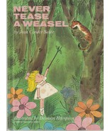 Never Tease a Weasel by Jean Conder Soule 1964 Vintage Hardcover Picture... - $14.84
