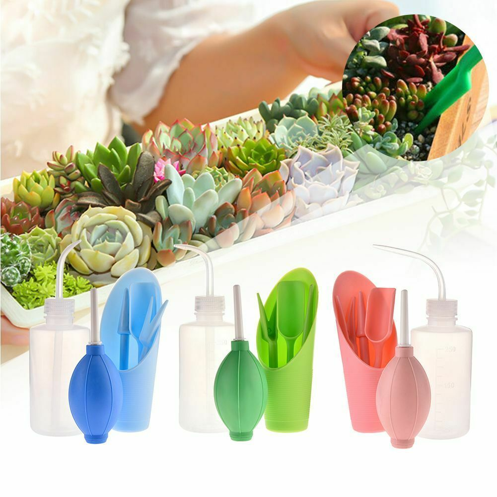 Plastic Materials Gardening Tools Kit Spray Bottle Bucket Shovel Blower Grafting