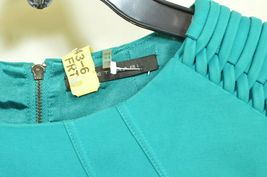 Elie Tahari dress SZ 2 LOT of 2  1 turquoise 1 floral sheath career chic lined image 6