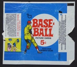 Vintage 1969 Topps Baseball Card Wax Wrapper 5 Cents Magic Magnet Set - $39.58