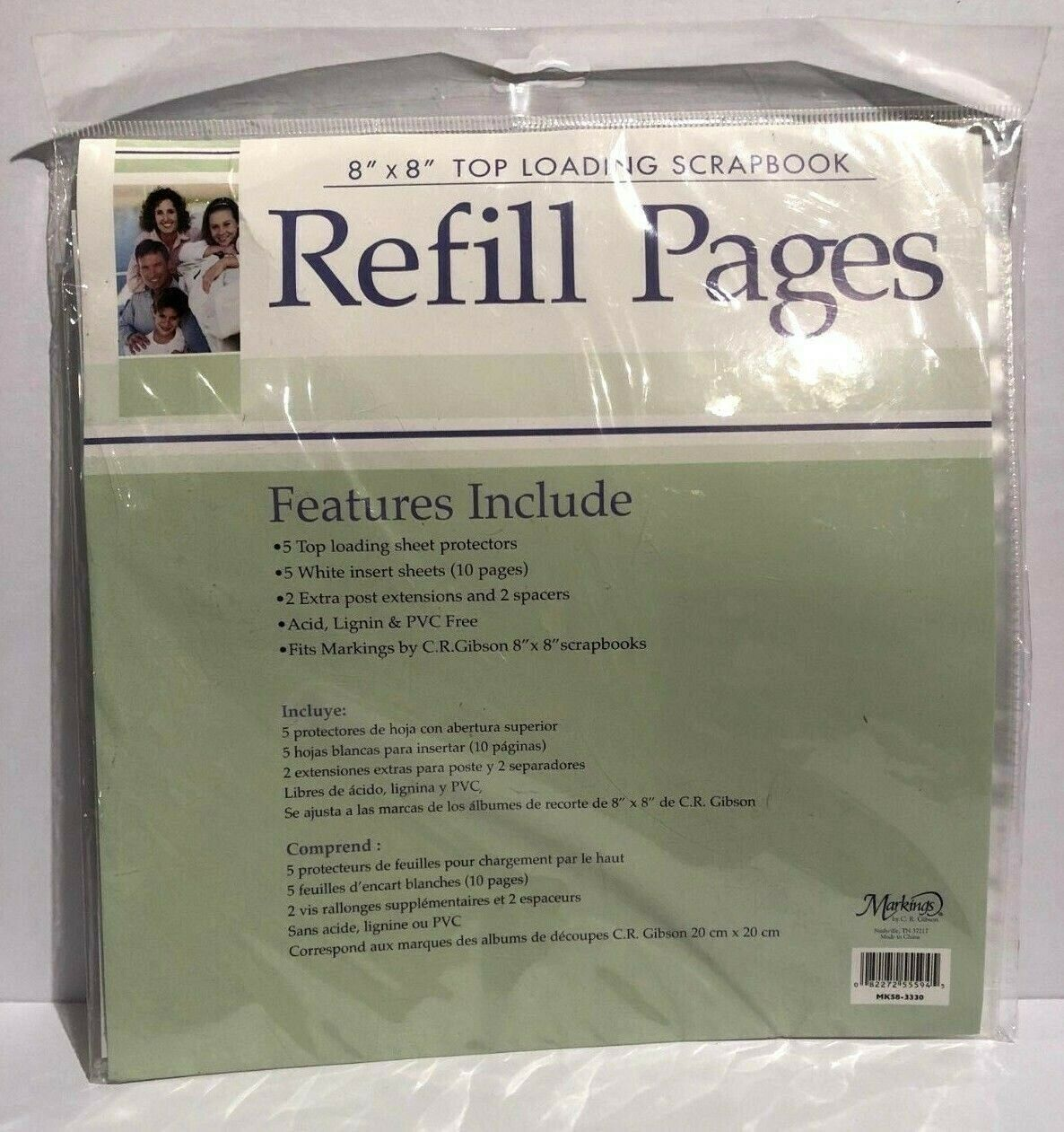 Creative Memories Scrapbook Pages OR Page Protectors 12x12 8x10 7x7 5x7 U Choose
