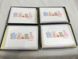 Lot of 39 Hallmark Thank You Cards, Blank Inside, Baby Theme - $9.49