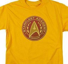 Starfleet Academy Command logo t-shirt retro sci-fi graphic tee CBS837 image 3