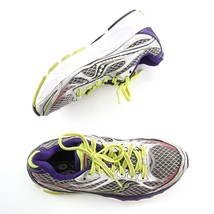 Saucony Ride 7 Womens Running Athletic Shoes Purple Gray Yellow Size 6.5... - $29.59