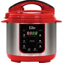 4 qt electric pressure cooker red thumb200