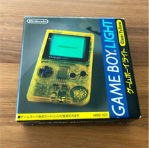 Game Boy Light Toyzalas Limited Clear Yellow  Disambiguation  Backlight - $1,181.98