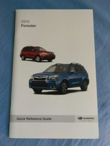 2015 Subaru Forester Quick Reference Guide Owner's Manual SUPPLEMENT New - $9.49